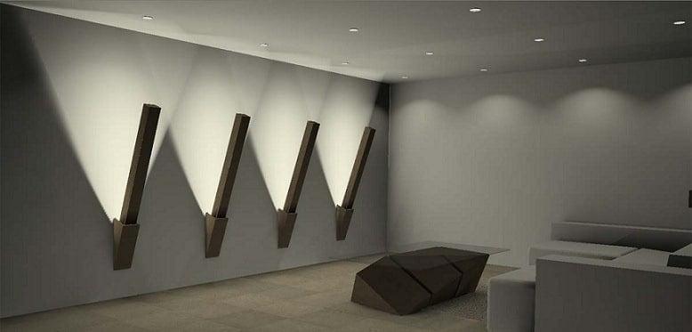 Lampara de pared interior vintage retro industrial pas de for Lamparas de pared interior